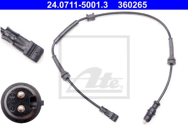 ABS-anturi ATE 24.0711-5001.3