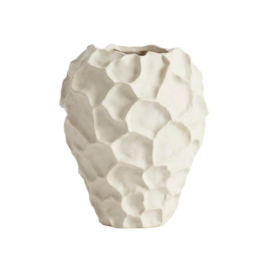 Muubs - Soil Vase Ø 21,5 cm - Vanilje (9490000101)