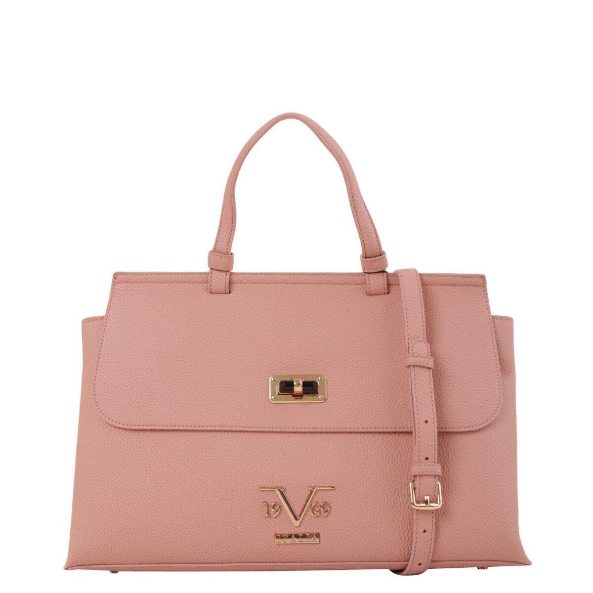 19v69 Italia Women's Handbag Various Colours 318989 - pink UNICA