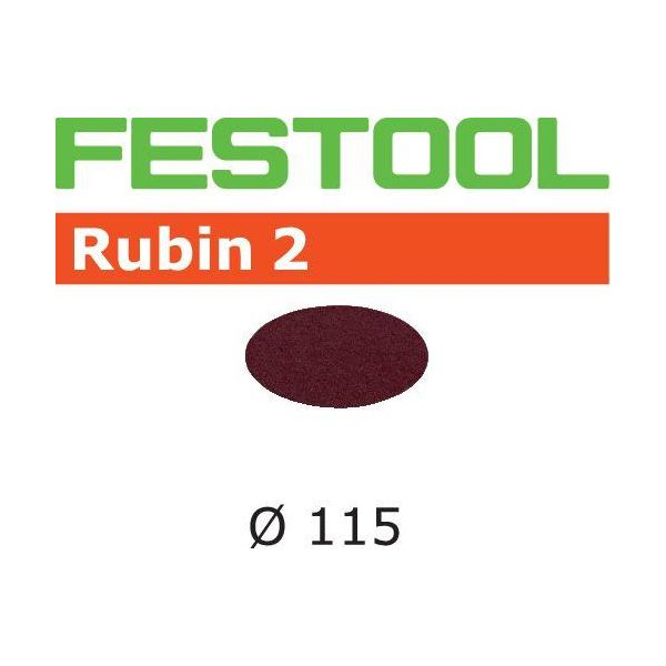 Festool STF RU2 Hiomapaperi 115 mm, 50 kpl P80