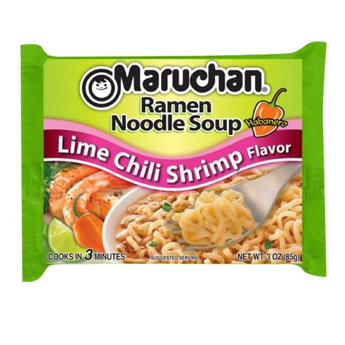 Maruchan Ramen Noodles - Lime Chilli Shrimp 85g