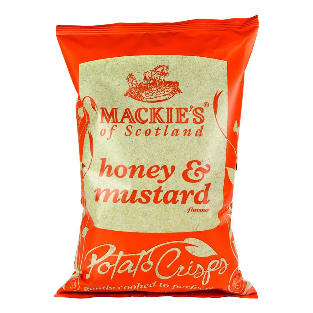 Mackie's Honey & Mustard Chips - 150 gram