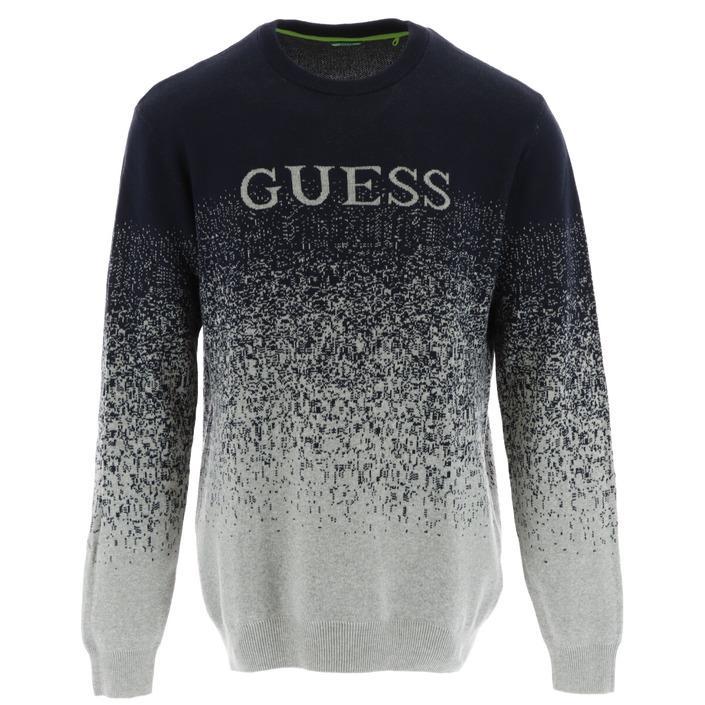 Guess Men's Sweater Various Colours 307417 - blue L