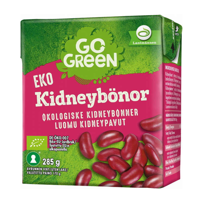 Eko Kidneybönor - 7% rabatt