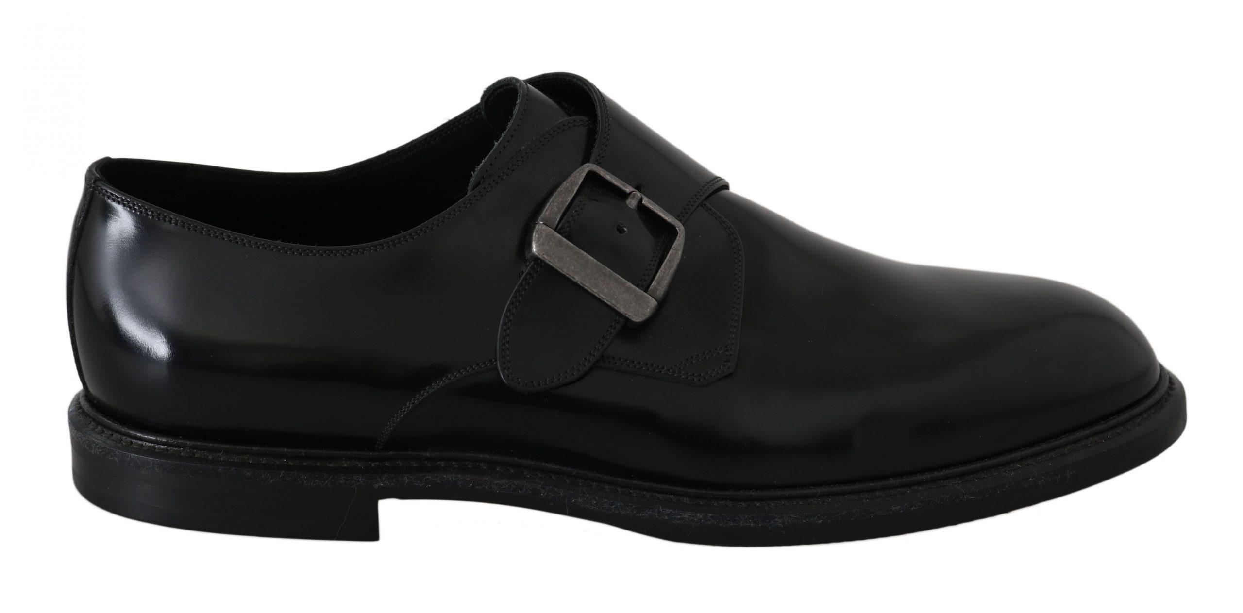 Dolce & Gabbana Men's Shoes Black MV2312 - EU39/US6