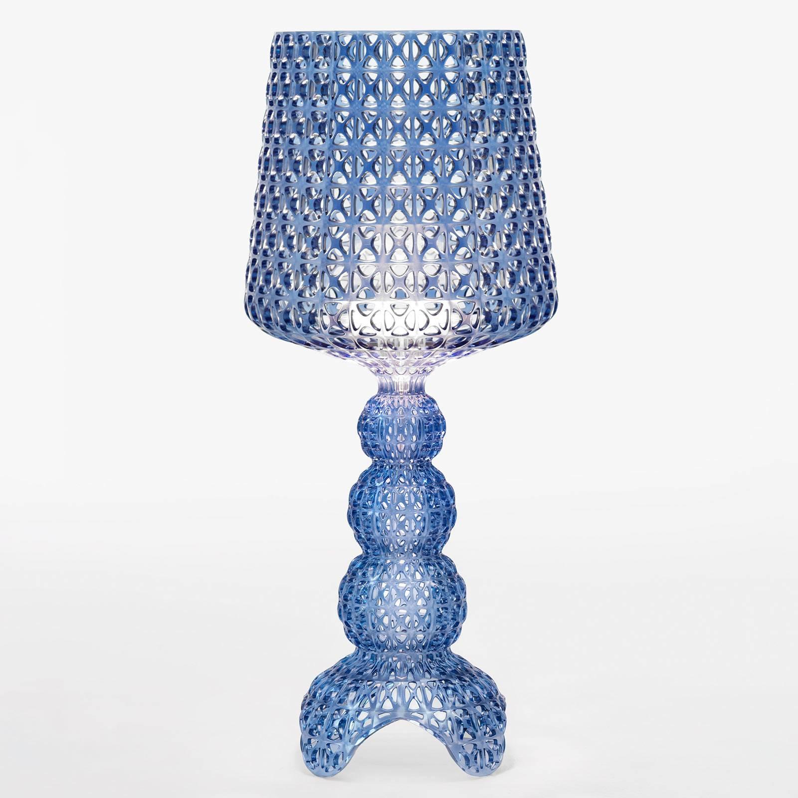 Kartell Mini Kabuki -LED-pöytälamppu, sininen