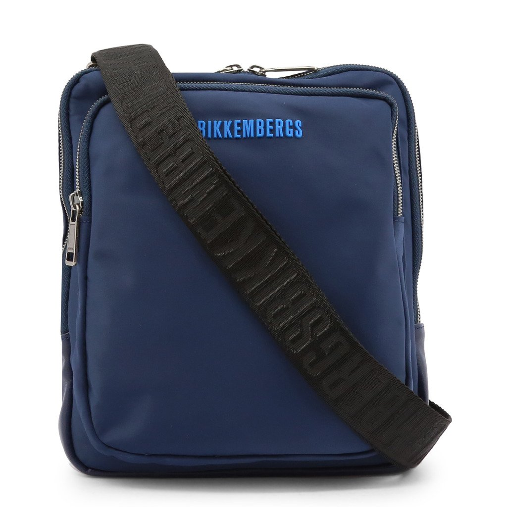 Bikkembergs Men's Crossbody Bag Various Colours E2BPME1Q0012 - blue NOSIZE