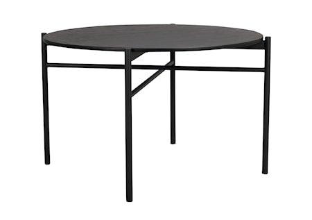 Skye Spisebord Svart Eik Ø120 cm