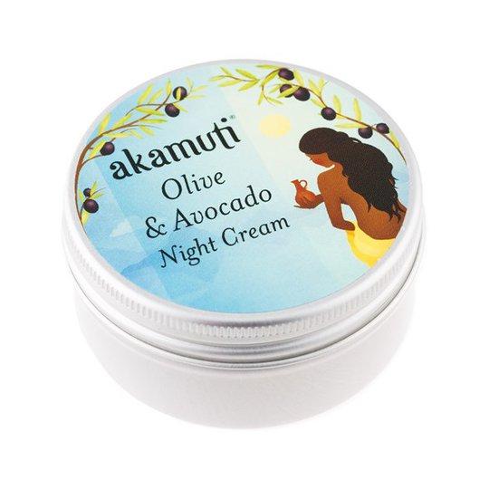 Akamuti Olive & Avocado Night Cream, 50 ml