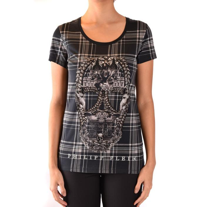 Philipp Plein Women's T-Shirt Black 185026 - black L