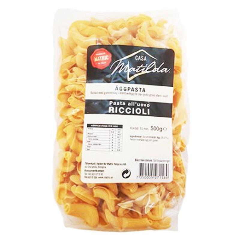 "Äggpasta ""Riccioli"" 500g - 36% rabatt"