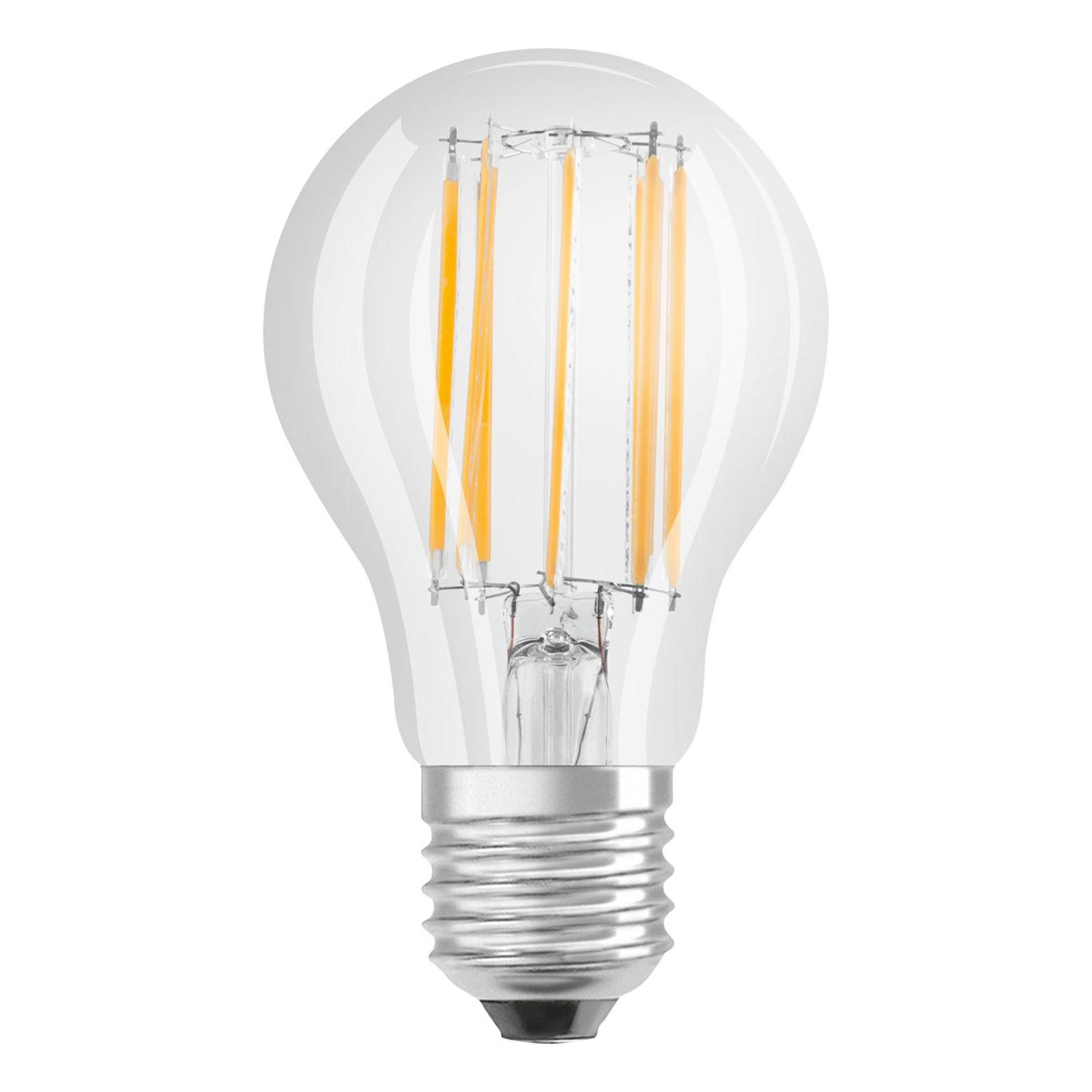OSRAM-LED-lamppu E27 10W Filament 4 000 K kirkas