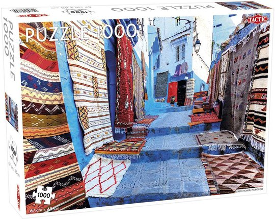 Tactic Puslespill Chefchaouen Morocco 1000 brikker