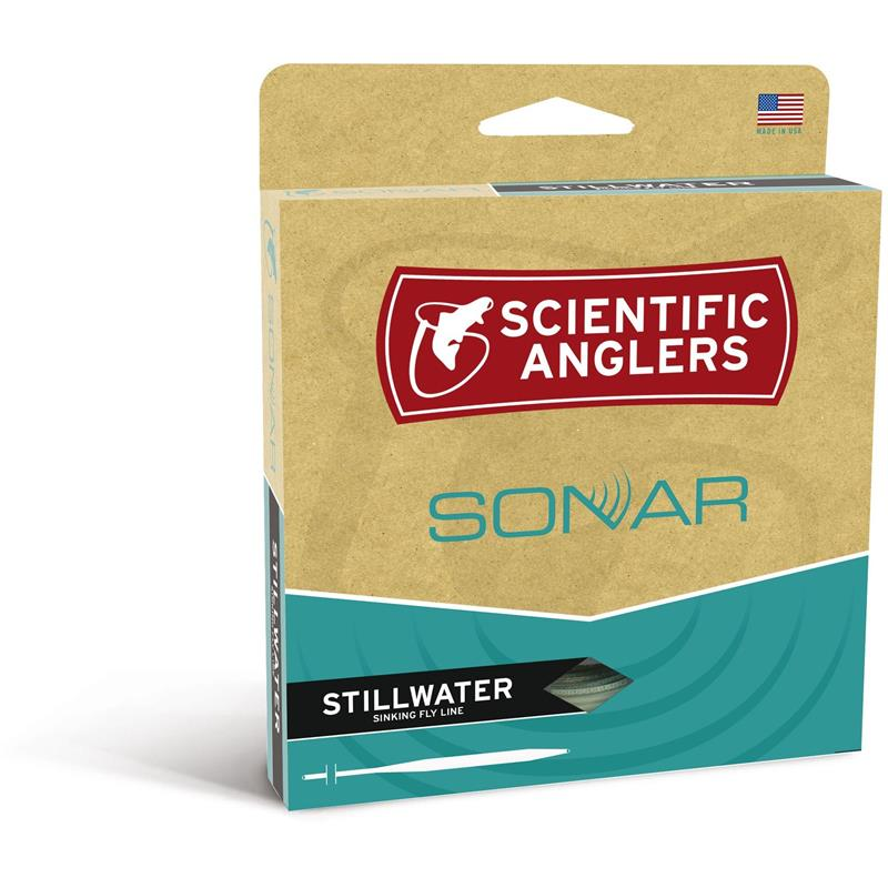 SA Sonar Stillwater Camo Clear WF #8 Full Intermediate