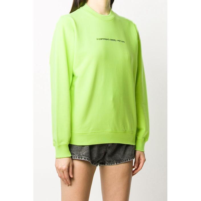 Diesel Women's Sweatshirt Green 297653 - green S