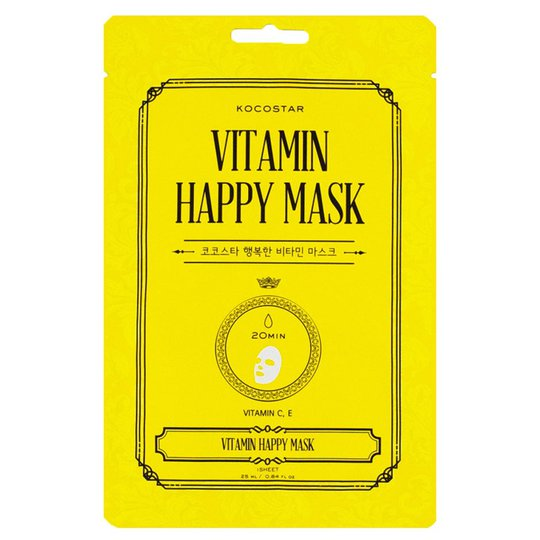 Vitamin Happy Mask, 25 ml Kocostar Kasvonaamiot
