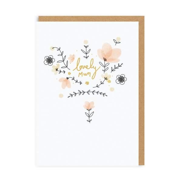 Lovely Mum Greeting Card