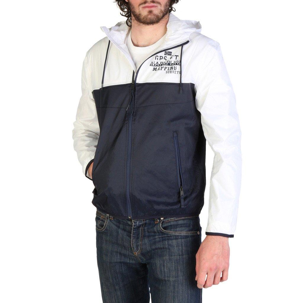 Napapijri Men's Jacket Blue AEBAC_N0YIL2 - blue S