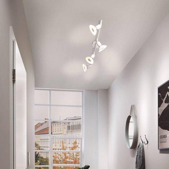 Paulmann Carolina takspot, hvit 4 lyskilder