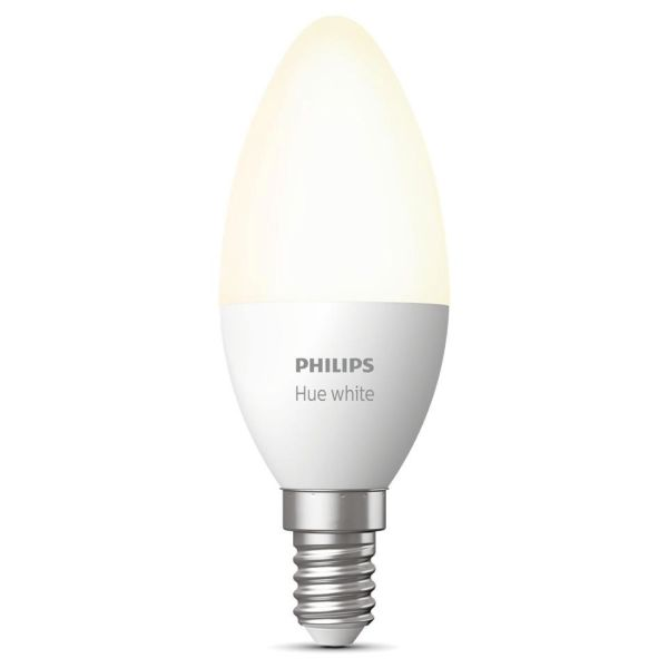 Philips Hue White LED-lampe 5,5 W, E14, B39