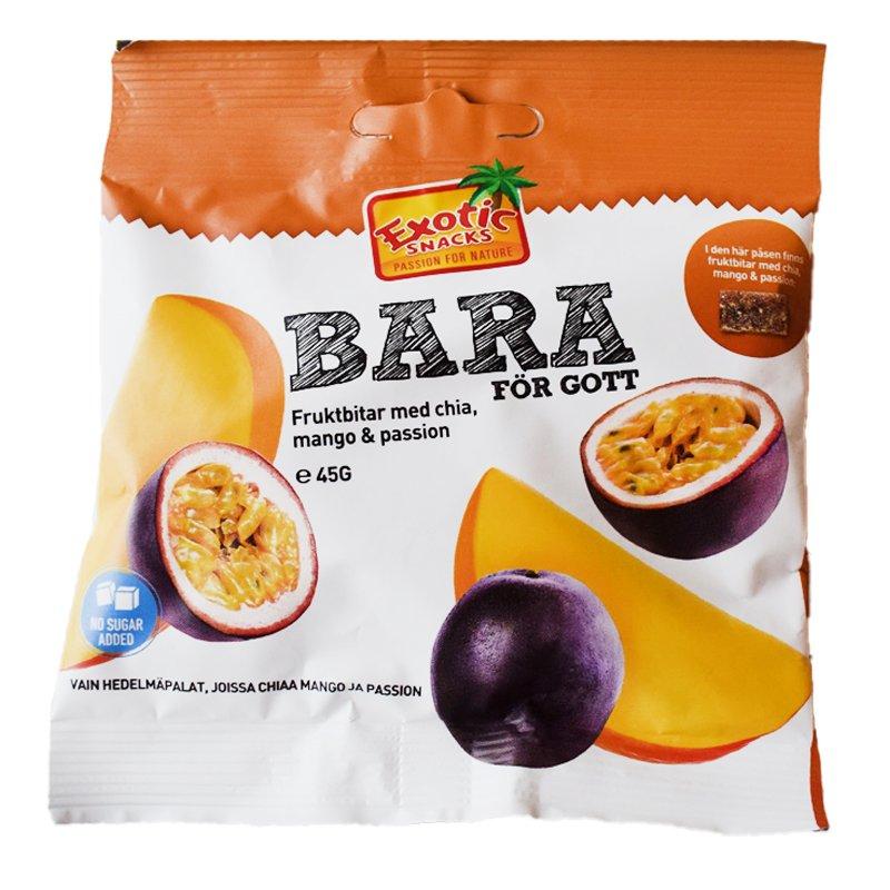 Hedelmäpalat Chia, Mango & Passion - 25% alennus