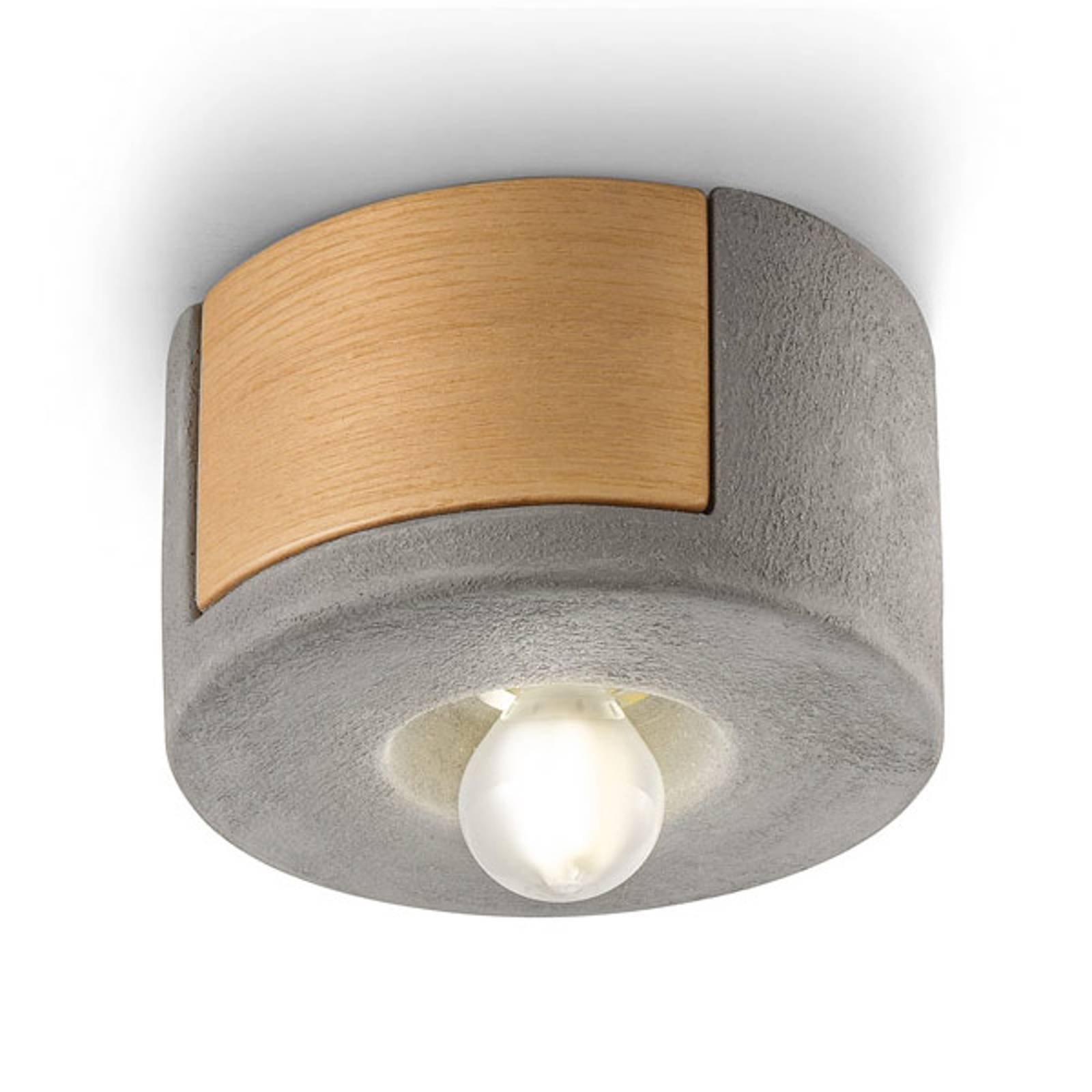 Taklampe C1791 i skandinavisk stil sement