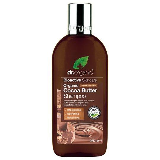 Dr. Organic Cocoa Butter Shampoo, 265 ml