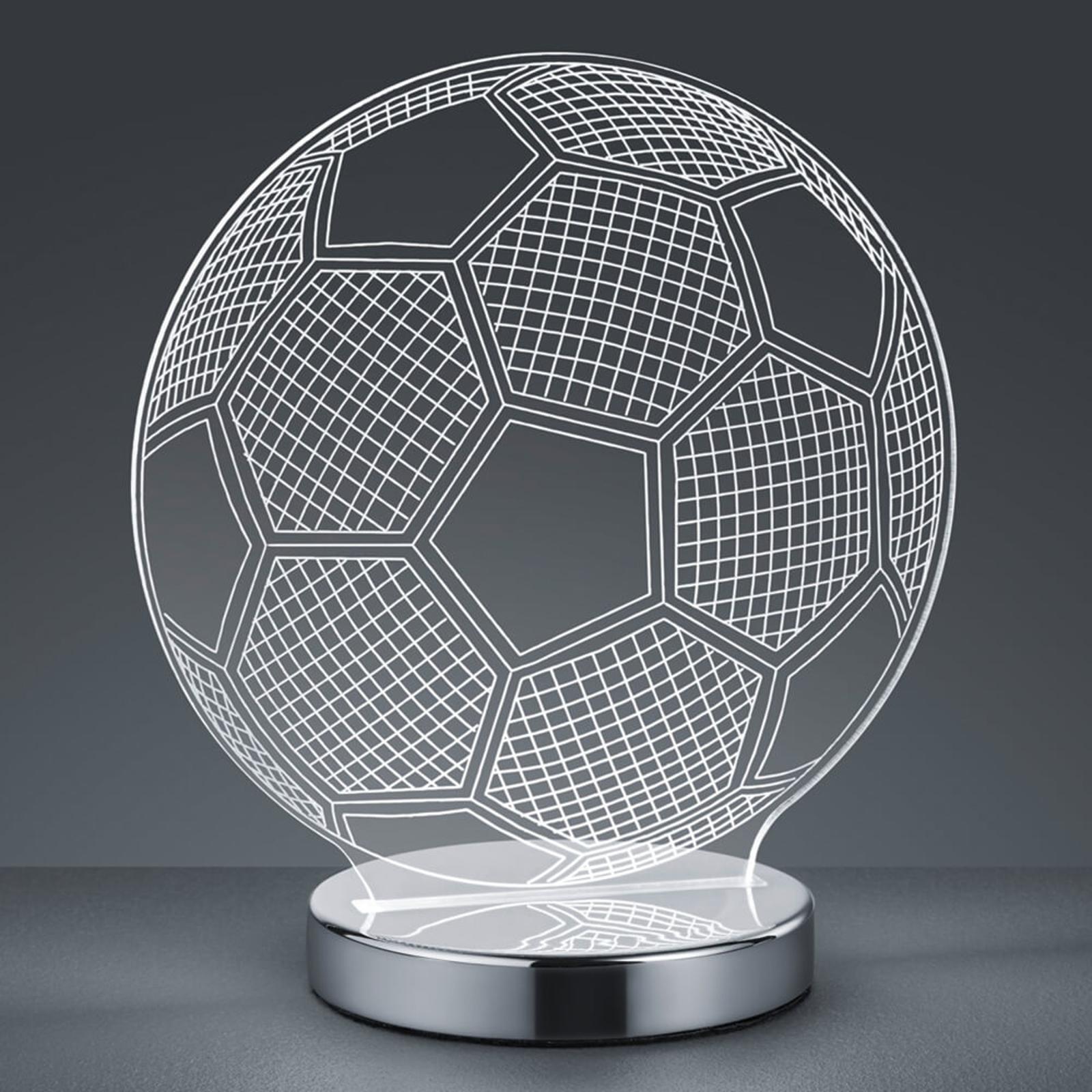 3D-hologrammipöytälamppu Ball - valittava valoväri