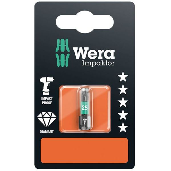 Wera Impaktor TX20 Bits 25 mm