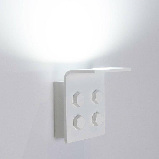Innermost Bolt LED-vegglampe, hvit, dimbar
