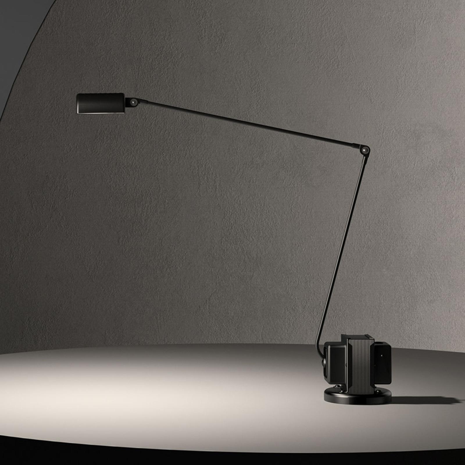 Lumina Daphine -LED-pöytälamppu, musta