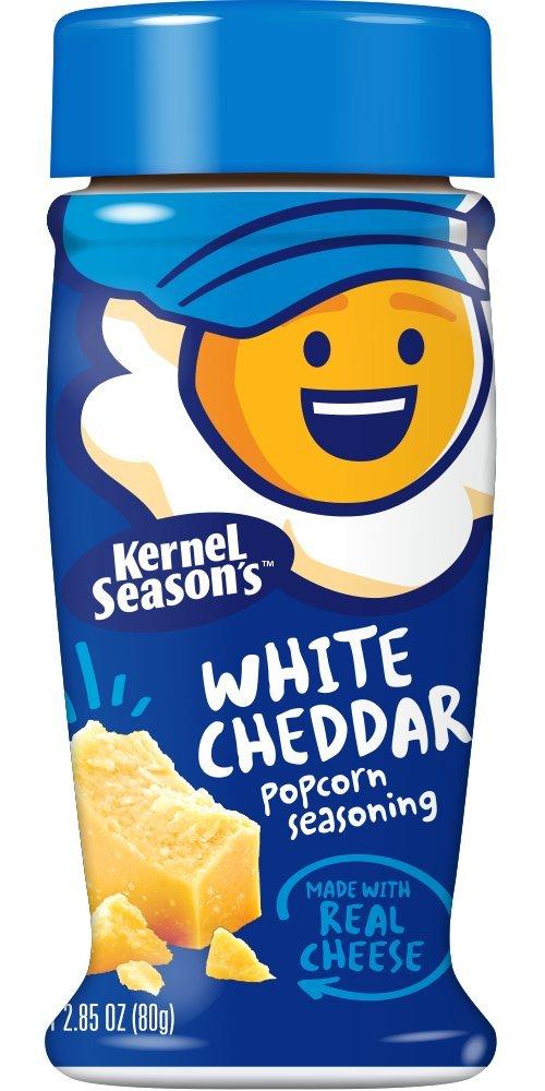 Kernel Popcornkrydda White Cheddar 80g