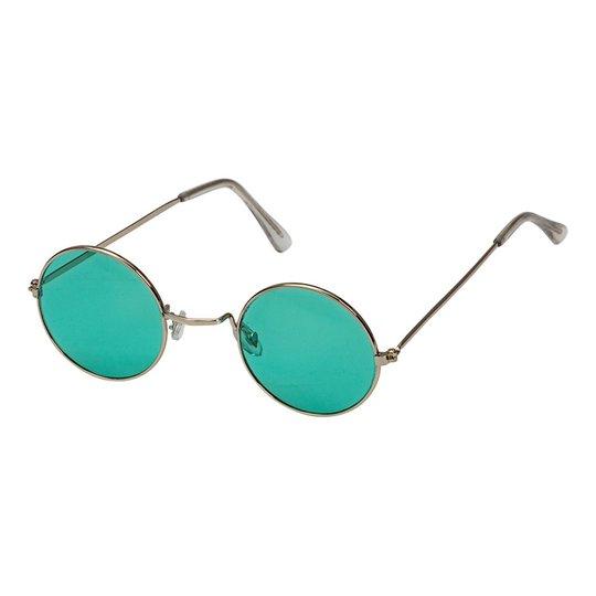 Hippieglasögon Gröna