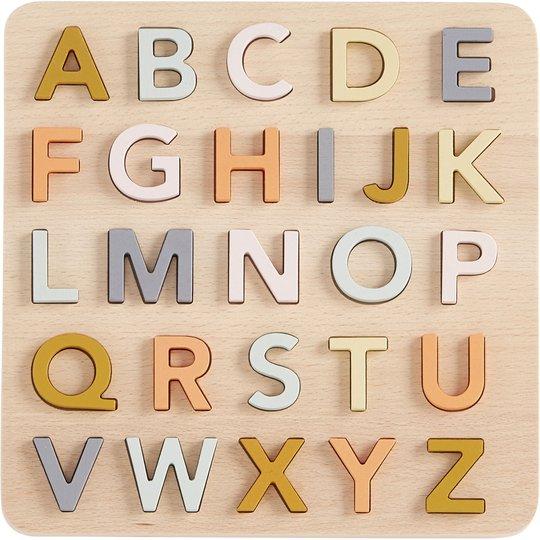 Kids Concept ABC Puslespill Engelsk, Tre