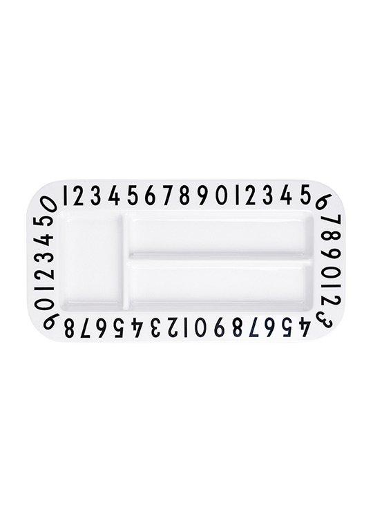 Design letters - Melamin Rektangulær Snack Plate (20201005SNACK RET)