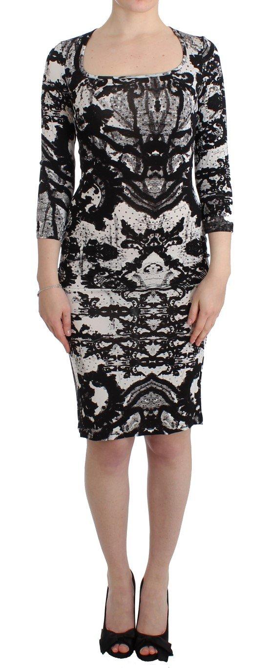 Cavalli Women's Sheath Dress Black SIG11996 - IT44|L