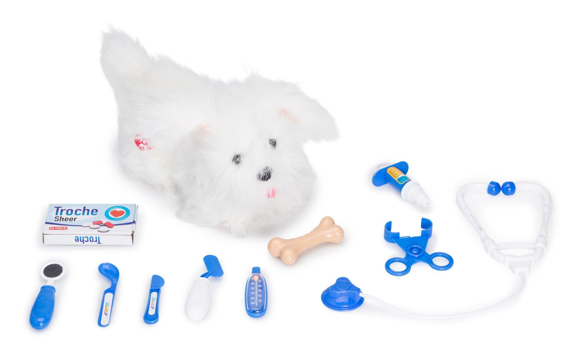 Cloudberry Castle Interaktiivinen Koira, Valkoinen