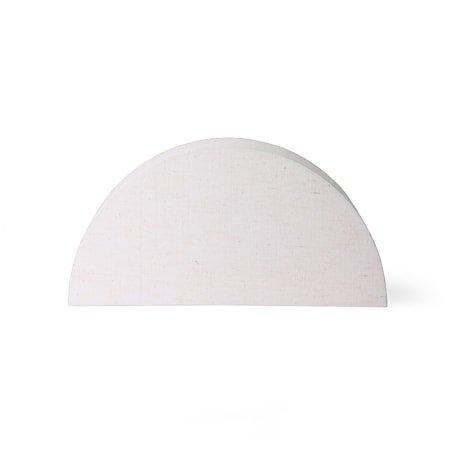 Semicircle Lampeskjerm L Natural jute