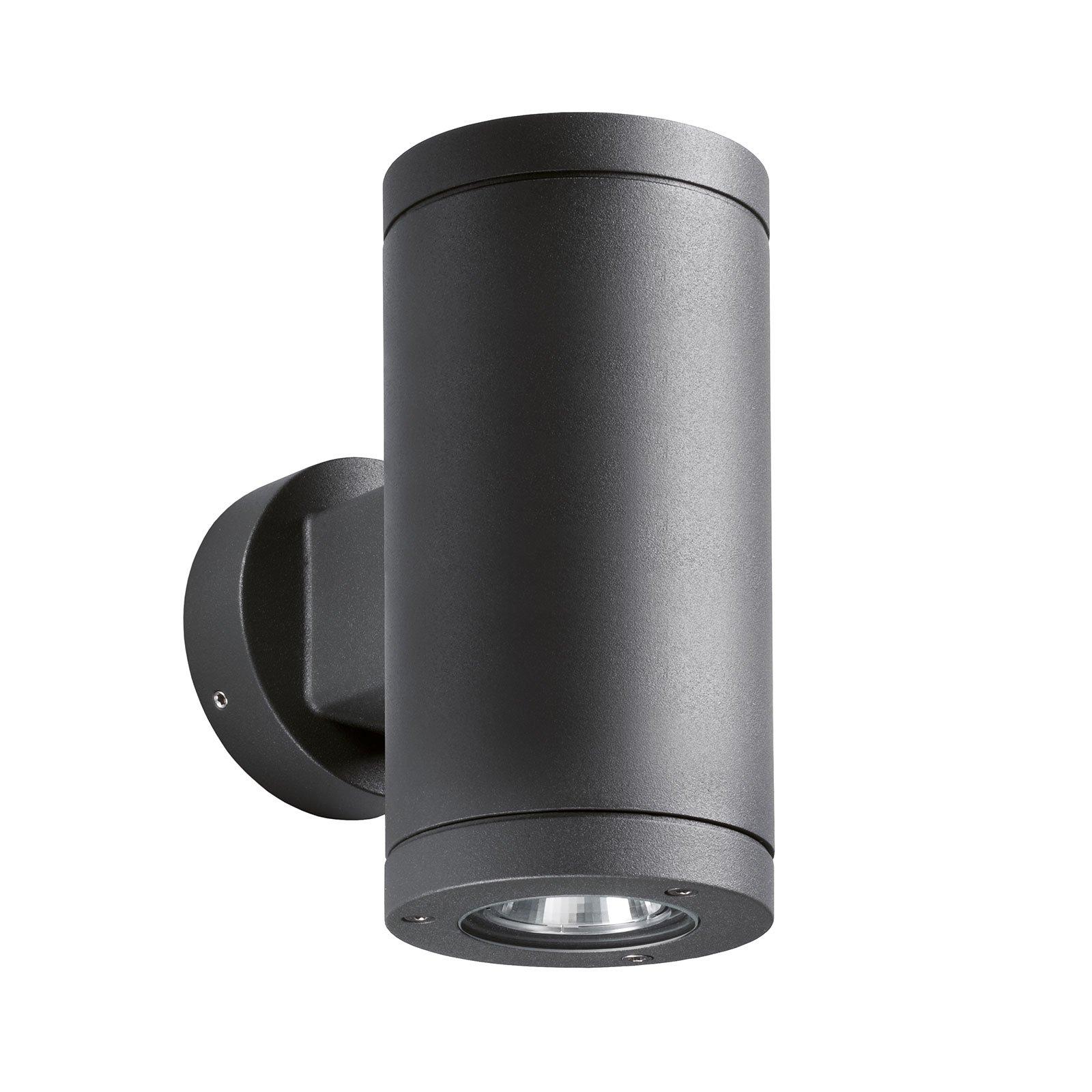 1062 up/down LED-vegglampe, grafitt 54°/54°