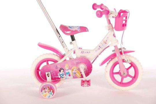 Disney Princess Barnesykkel 10 tommer m/Stang