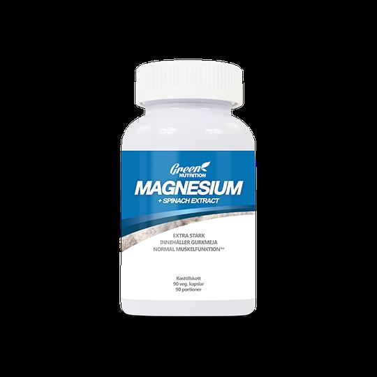 Magnesium+ Spinach Extract, 90 caps