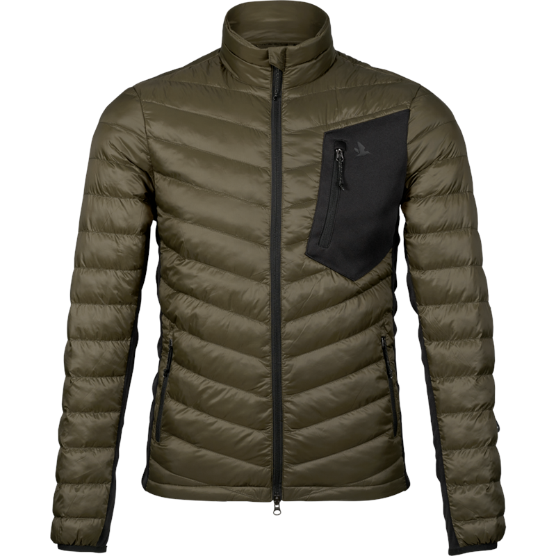Seeland Climate Quilt jakke M Mellomlagsjakke, Pine Green