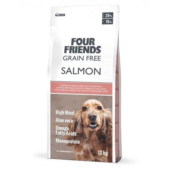 FourFriends Dog Grain Free Salmon (17 kg)