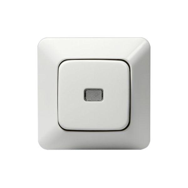 ABB 1466UP Painike upotettava, IP20, valkoinen Sileä