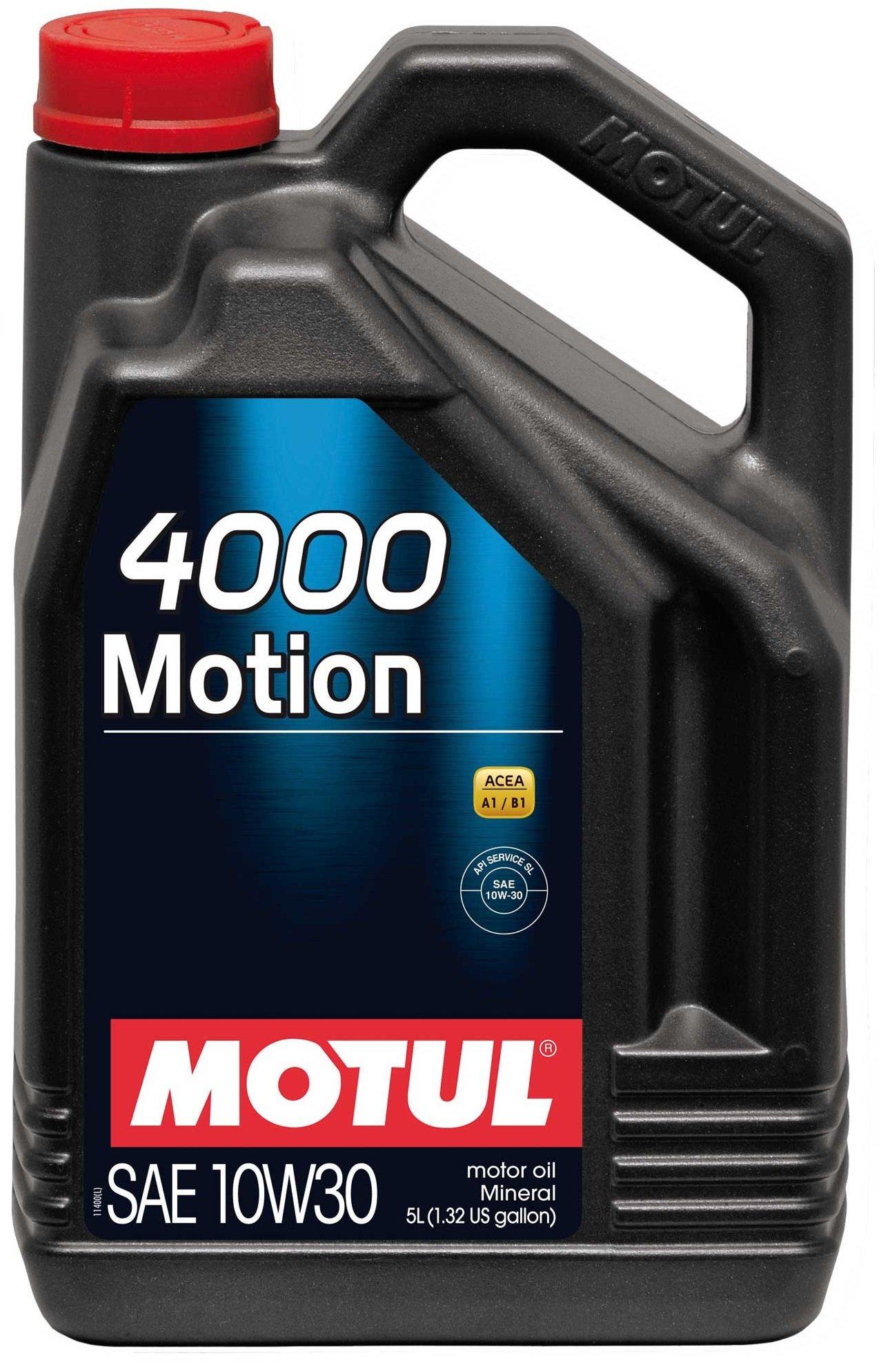 Moottoriöljy MOTUL 4000 MOTION 10W30 5L