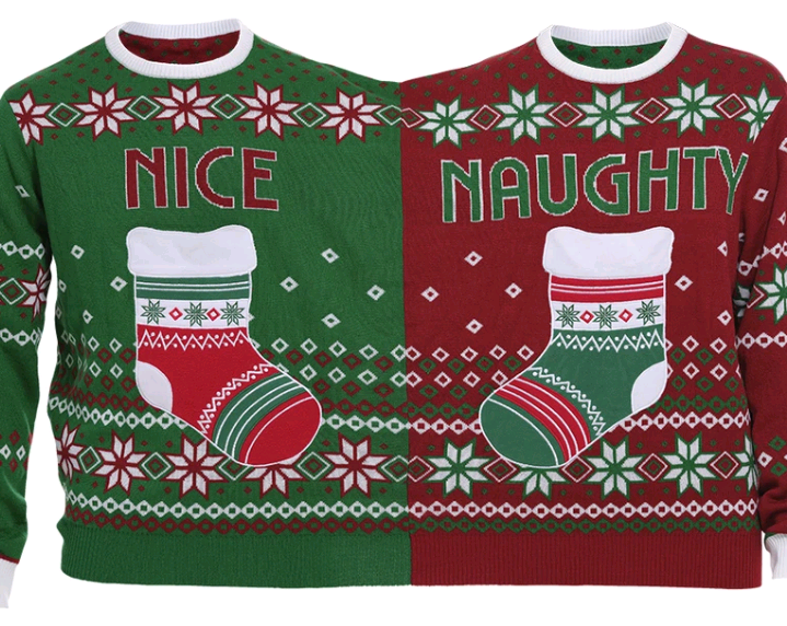 The Twin Christmas Sweater - XL (Danish)