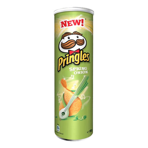 Pringles Spring Onion - 190 gram