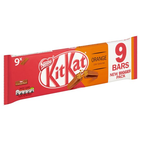 KitKat Orange Bar 9-Pack