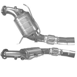 Katalysaattori, Edessä, BMW 5 [E60], 5 Touring [E61], 18307792190, 18307796617
