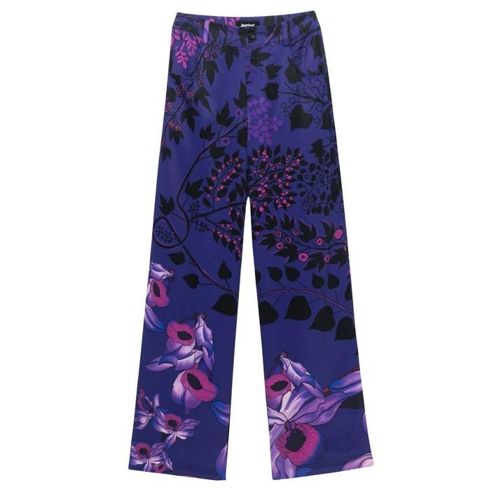 Desigual Women's Trouser Purple 189663 - purple 34